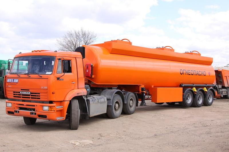 перевозка топлива собственным транспортом